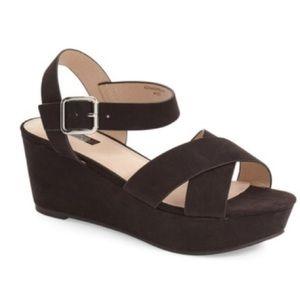 Topshop platform wedge  sandal